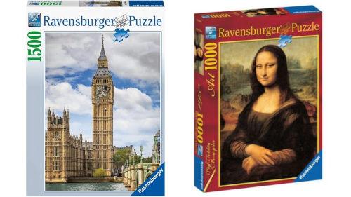 Három izgalmas Ravensburger puzzle